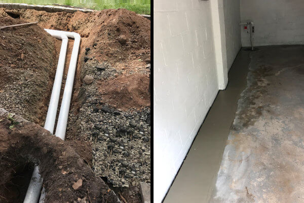 Yard Drainage and Waterproofing Solutions