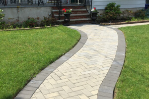 Sidewalk and Patio Paver Installation